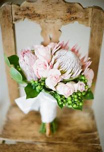 Bouquet Inspiration Protea Wedding Bouquet