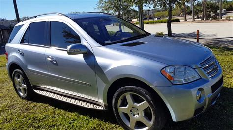 Sunroof obsidian black metallic with ash leather interior warranty 5.5l v8 power sunroof. mercedes Benz ml550 4matic 2008 - YouTube