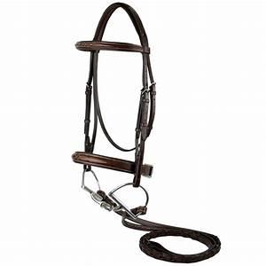 M Toulouse Platinum Devon horse bridle