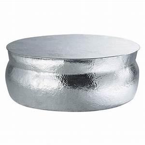 Table Ronde Maison Du Monde : table basse en aluminium l 91 cm nomade maisons du monde ~ Teatrodelosmanantiales.com Idées de Décoration