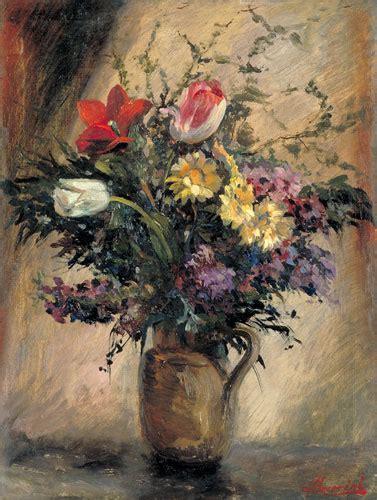 vaso con fiori vaso con fiori olio su tela palazzo