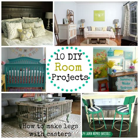10 diy room projects monday funday link party