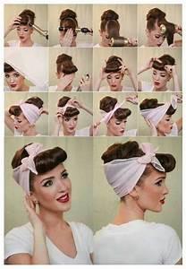 50er Jahre Frisur Lange Haare : elegante rockabilly frisur hair styles in 2019 rockabilly frisur frisur hochgesteckt und ~ Frokenaadalensverden.com Haus und Dekorationen