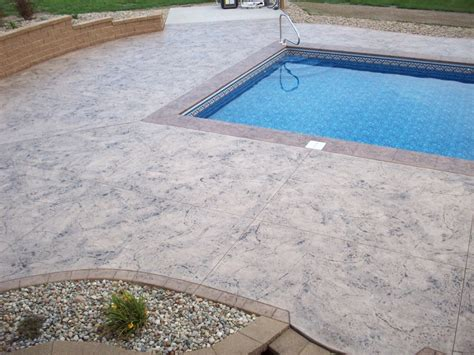 decorative concrete   ground pooljpg michiana