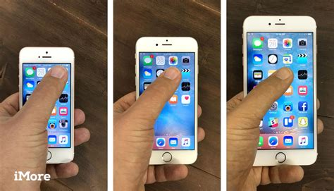 iphone se screen sizes  interfaces compared imore