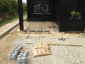 Terrasse Bois Sur Plot Beton : zehouse 39 s blog suivi de construction maison ossature ~ Premium-room.com Idées de Décoration