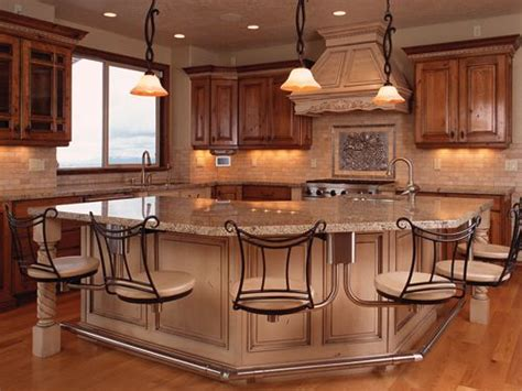 large kitchen islands with seating for 6 snack bar kitchen island seating and chairs on 9878