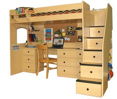 loft bed with desk furniture full size corner loft bunk bed with desk and