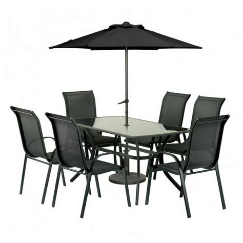 Patio Table And 6 Chairs by Buy Amir Royalcraft Cayman 6 Seater Rectangular