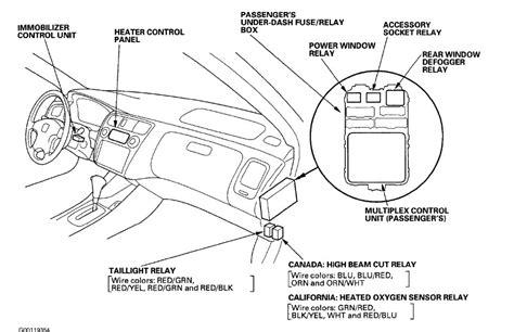 honda accord  sedan  tail lights