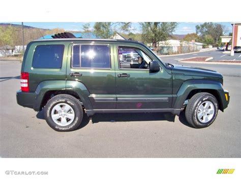 dark green jeep liberty 2011 natural green metallic jeep liberty sport 4x4