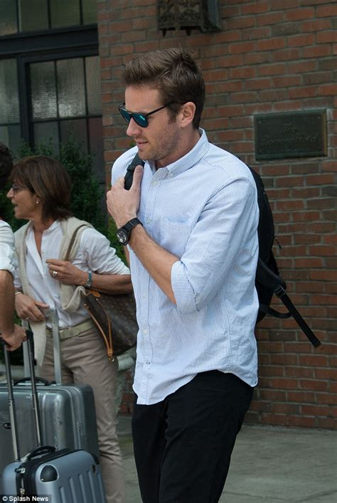 armie hammer swimsuit armie hammer with elizabeth chambers after the man from u