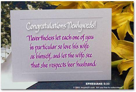 congratulations newlyweds inspire
