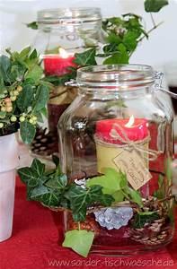 Weckgläser Weihnachtlich Dekorieren : tischdeko diy herbstliche dekoration mit weckgl sern ~ Watch28wear.com Haus und Dekorationen