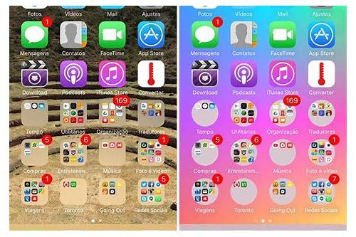 como criar pasta de baixar no iphone 7