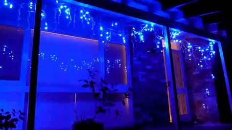 christmas lighting show display icicle led christmas