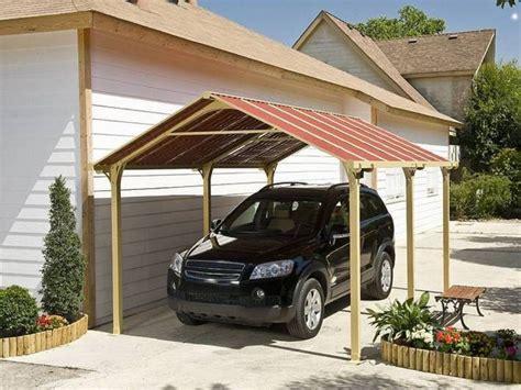 Wood Carport Plans Prefab Wooden Kits Do It Yourself Diy