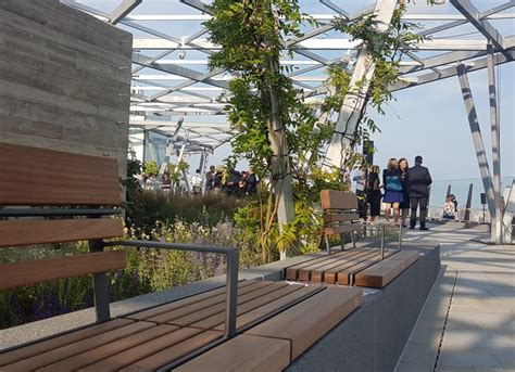 A Sneak Preview Of The Roof Garden At 120 Fenchurch