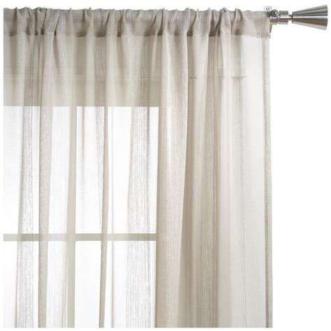 gate collection sheer curtain length 84 quot sheer