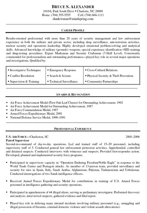 Usaf Sergeant Resume by Aircraft Maintenance Officer Resume Exle United