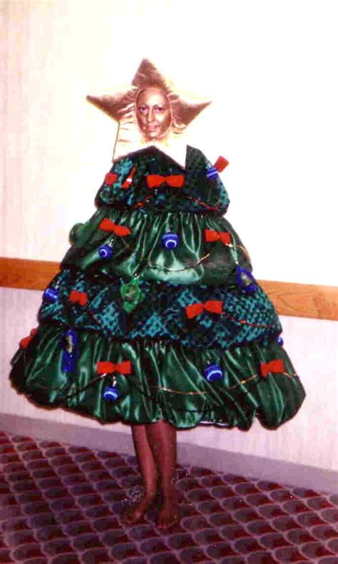 mighty lists  people dressed  christmas trees