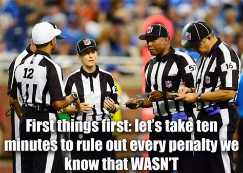 Nfl Ref Meme - collector s crack ok i m much better after a good nights sleep