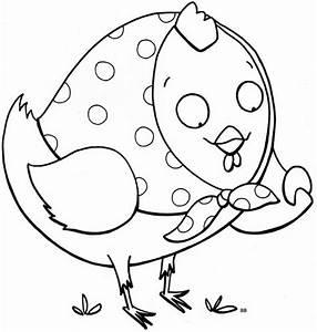 Poule Pour Paques : dessin de poule pour paques ~ Zukunftsfamilie.com Idées de Décoration