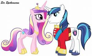 My Little Pony Shining Armor And Cadence Baby