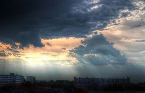 Background Images Large by City Clouds Cloudy Of Hd City