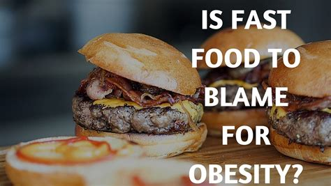kitchen knives guide is fast food to blame for obesity you might be shocked