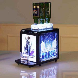 china duke barware jagermeister wine liquor chiller dispenser automatic shot cooler tap machine