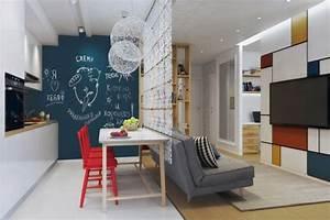 Aménagement Petit Appartement : am nagement petit appartement quelques id es ~ Nature-et-papiers.com Idées de Décoration