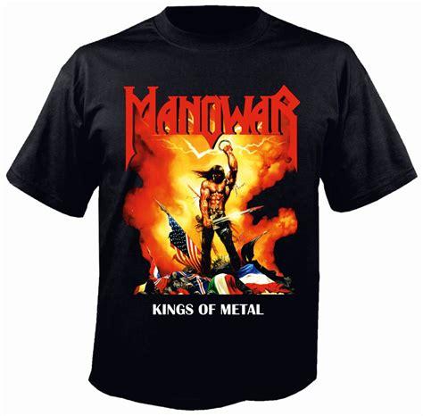 manowar of metal t shirt metal rock t shirts and