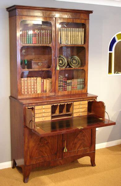 bureau secretaire antique antique mahogany secretaire bookcase bureau and secretaire