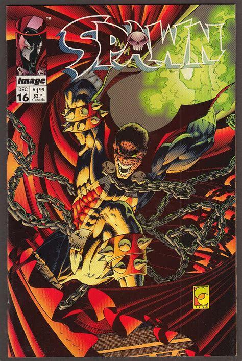 SPAWN #16 Image comic book 12 1993 1st printing