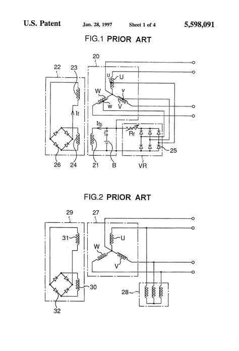 patent us5598091 three phase brushless self excited