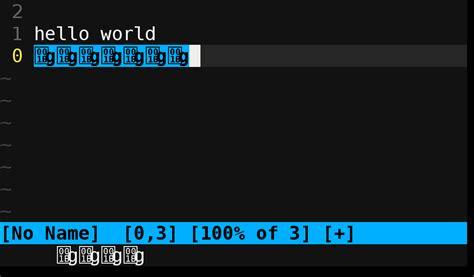 vim showing weird characters  screen  terminal