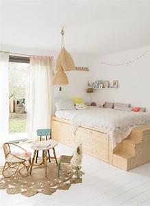 Attrape Reve Maison Du Monde : dormitorios infantiles naturales en madera decopeques ~ Teatrodelosmanantiales.com Idées de Décoration