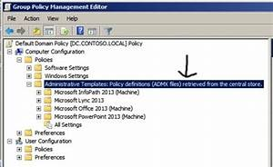 Office Group Policy Templates Office Lync 2013 Group Policy Templates MarkC 39 S Tech Blog