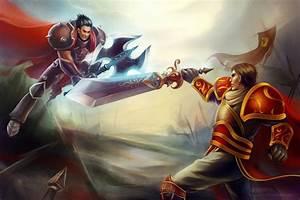 LOL_Darius vs Garen by leejun35 on DeviantArt