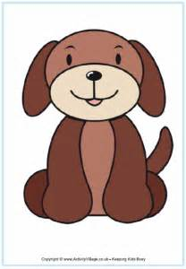 Puppy Dog Template Printables