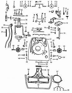 Hoover Model 1030 Vacuum  Upright Genuine Parts