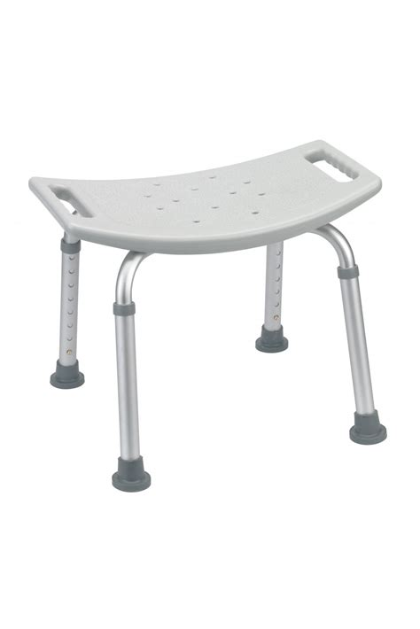 grey bathroom safety shower tub bench chair gba medical
