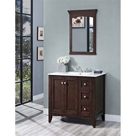 fairmont designs bathroom vanity fairmont designs shaker americana 36 quot vanity drawer right