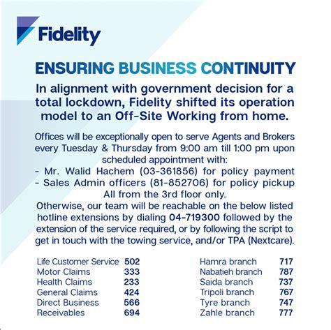 Fidelity Assurance & Reinsurance Co. S.A.L. | News Releases
