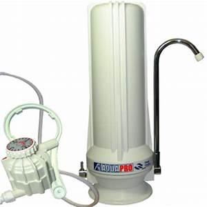 Purificateur D Eau Maison : purificateur charbon actif sur evier filtre eau de ~ Premium-room.com Idées de Décoration