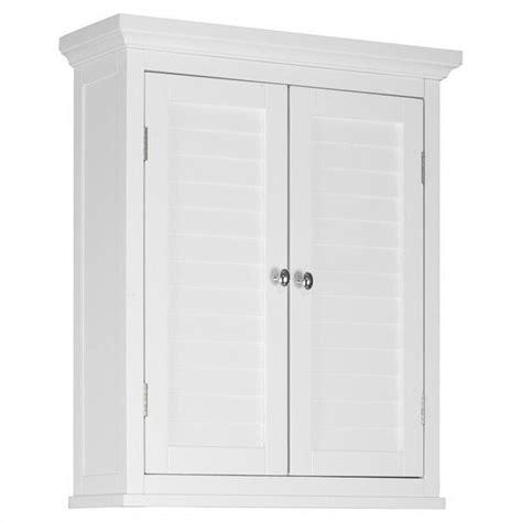 2door Wall Cabinet In White Elg583
