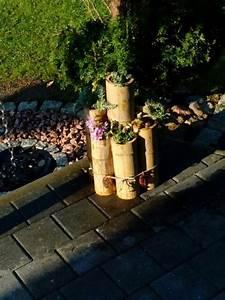 Deko Für Terrasse : deko f r terrasse altes bambusrohr verwertet gartendeko pinterest deko ~ Sanjose-hotels-ca.com Haus und Dekorationen