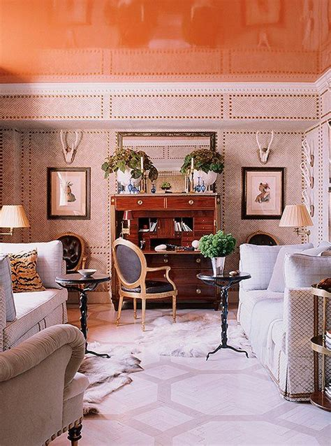 Painting Living Room High Ceilings by Best 25 Painted Ceilings Ideas On Paint