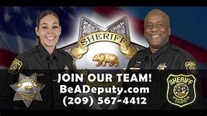 Join our Team! Stanislaus County Sheriff's Office - YouTube
